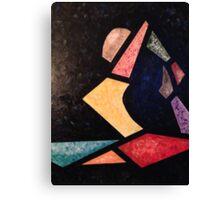 Eka Pada Rajakapotasana - King Pigeon Canvas Print