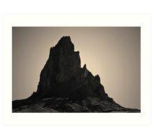 Agathla Peak AZ I Toned Art Print
