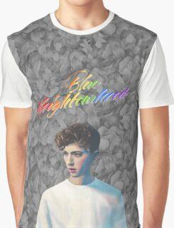 Troye Sivan Blue Neighbourhood Rainbow Graphic T-Shirt
