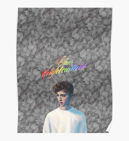 Troye Sivan Blue Neighbourhood Rainbow Poster