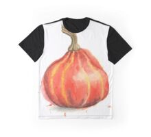 Ambercup Squash Painted in Watercolor Graphic T-Shirt