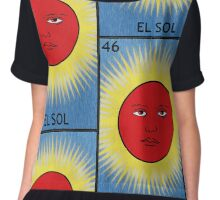 El Sol - The Sun Chiffon Top