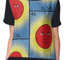 El Sol - The Sun Chiffon Top