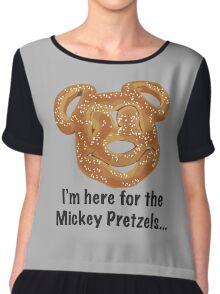 Mickey Pretzel Chiffon Top