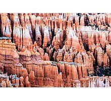 Hoodoos at Bryce Canyon Photographic Print