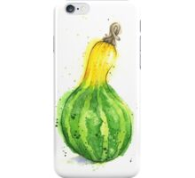 Gourd or Squash Painted in Watercolor iPhone Case/Skin