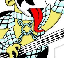 Bart/Kiss pocket print Sticker