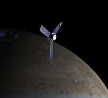 Juno Spacecraft by Ray Cassel