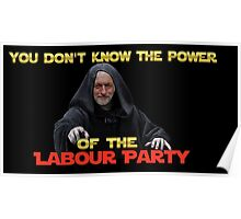 Star wars: Labour party Poster