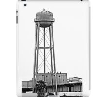 B&W - Water Tower in Rural California iPad Case/Skin
