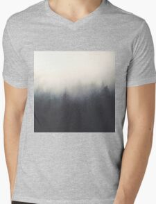 snow storm Mens V-Neck T-Shirt