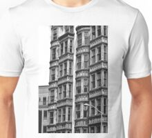 B&W -  Living in San Francisco - Columbus Tower Unisex T-Shirt