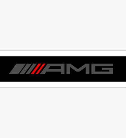 AMG GREY Sticker