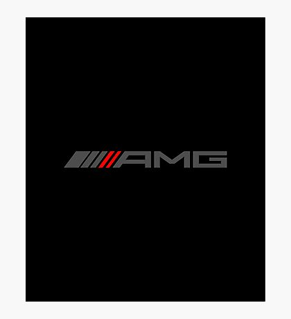 AMG GREY Photographic Print