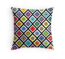 Digital Crochet Throw Pillow