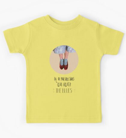 Dorothy's red shoes Kids Tee