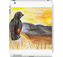 Mountain Bird iPad Case/Skin