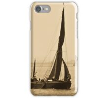 Atmospheric Thames Barges  iPhone Case/Skin