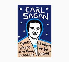 Carl Sagan pop folk art Unisex T-Shirt