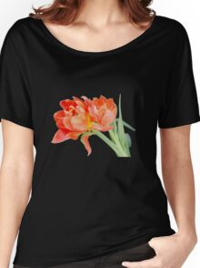 Peachy Tulips - T-Shirts Women's Relaxed Fit T-Shirt