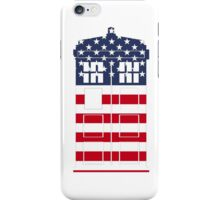 Doctor Who: American Flag TARDIS iPhone Case/Skin
