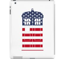 Doctor Who: American Flag TARDIS iPad Case/Skin