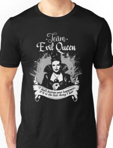 Team Evil Queen OUAT. Silver version. Unisex T-Shirt