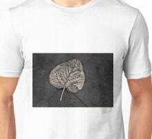 Silvery Leaf I Toned Unisex T-Shirt
