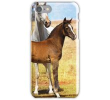 Arabian Mare & Foal iPhone Case/Skin