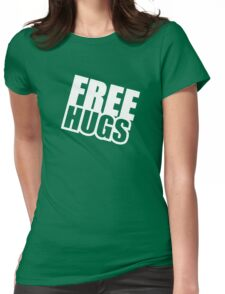 Free Hugs - Funny T-Shirt Womens Fitted T-Shirt