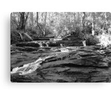 Granite Watercourse Canvas Print