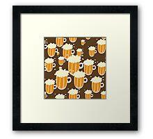 B is for BEER! Framed Print