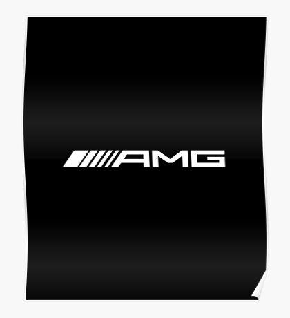 AMG WHITE Poster