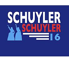 Vote Schuyler 2016 Photographic Print
