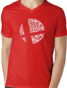 Smash Mens V-Neck T-Shirt
