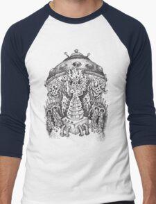 INVADED (black) Men's Baseball ¾ T-Shirt