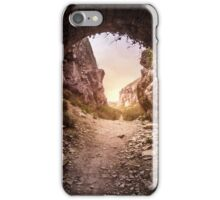 The Arch of Portland Quarry iPhone Case/Skin