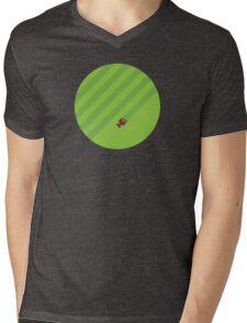 Cutting the Grass Mens V-Neck T-Shirt