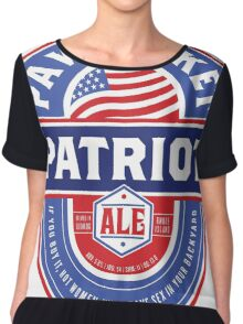 Pawtucket Patriot Ale Chiffon Top