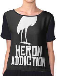 Heron Addiction Chiffon Top