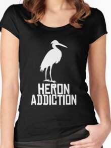 Heron Addiction Women's Fitted Scoop T-Shirt