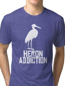 Heron Addiction Tri-blend T-Shirt