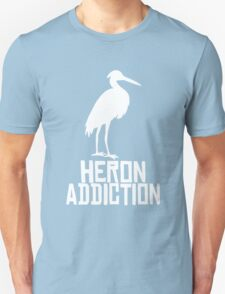 Heron Addiction Unisex T-Shirt