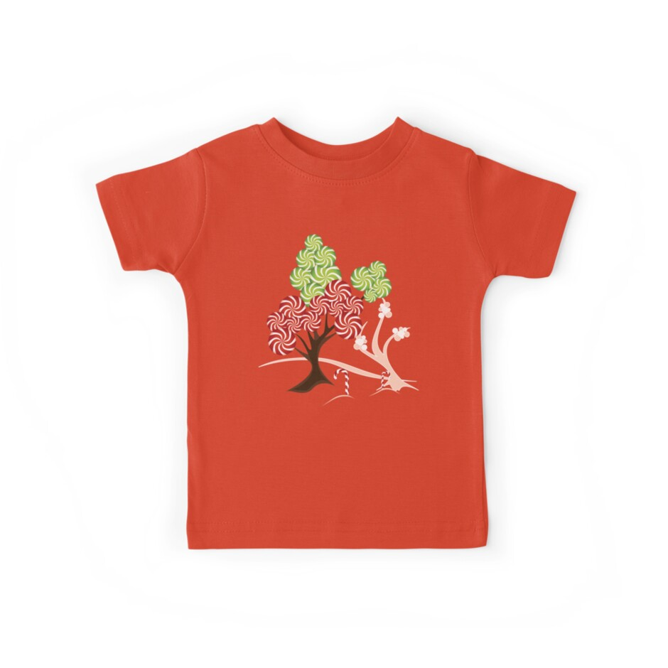 Magic Candy Tree - V1 Tee by ruxique