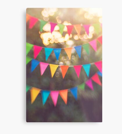Let the celebrations begin! Metal Print