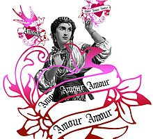 Amour Woman Heart  by Zehda