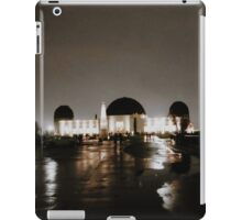 griffith ob at night iPad Case/Skin
