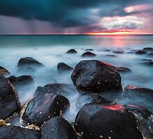 Burleigh Heads Sunrise by McguiganVisuals