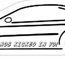 VANOS KICKED IN YO! E46 Sticker