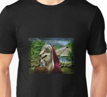 Red Riding Wolfs Arrival (For Challenge) Unisex T-Shirt